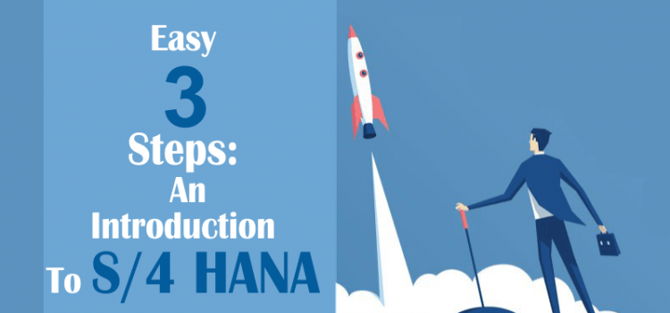 Easy 3 Steps : An Introduction to SAP S/4HANA
